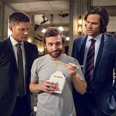 Only the Winchesters can say that God is their pain in the ass roommate.