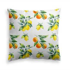 Try our CITRUS BOUQUET throw pillow. Let the yellow lemon hues lighten your mood and. Power Nap, Orange Pillows, Decorative Throw Pillows, Modern Contemporary, Pillow Covers, Bouquet, Mood, Inspire, Free Shipping
