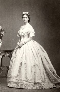 Princess Dagmar of Denmark, later Tsarina Maria Fyodorovna of Russia. 1860s,