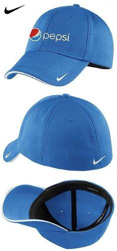 Hats 163543  Pepsi Nike Golf Dri-Fit Mesh Swoosh Flex Sandwich Cap (Pacific 87c88009b00