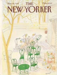 Sempé. The New-Yorker. 1985