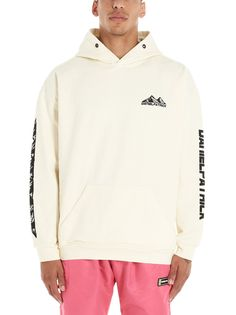 Daniel Patrick Moving Mountains Pullover Hoodie In Ivory Black Daniel Patrick, Move Mountains, Adidas Jacket, Ivory, Beige, Mens Fashion, Pullover, Hoodies, Clothes