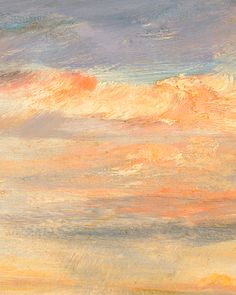 paintedout: John Constable - Cloud Study, Early Morning,...