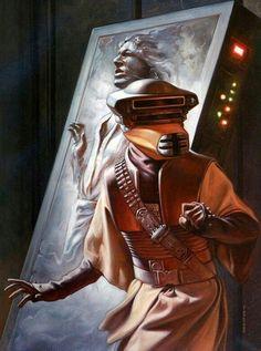 "Star Wars Episode VI ""The Return of the Jedi"": Princess Leia ""Boushh"" Star Wars Rebels, Star Trek, Star Wars Fan Art, Images Star Wars, Star Wars Pictures, Star Wars Comic, Cuadros Star Wars, Han And Leia, Jabba The Hutt"