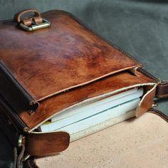 Cuero hecho a mano bolsas de hombro / bolso de por FocusmanLeather