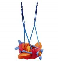 HABA Airplane Baby Bouncer, Jumper, Swing - Indoor Mounted, Adjustable Polyester Baby Swing With Spinning Propeller Baby Door Bouncer, Kids Toys Online, Flying Ace, Swing Seat, Baby Swings, Baby Body, Baby Essentials, Baby Gear, Making Ideas