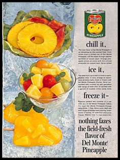 1950s Food, Retro Food, Retro Ads, Vintage Advertisements, Vintage Ads, Retro Recipes, Vintage Recipes, Cookbook Recipes, Dessert Recipes