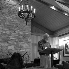 Eugene Peterson recorded in the Laity Lodge Great Hall on October 18, 2014, as part of The Poetics of Faith retreat.