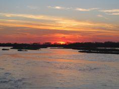 Platte River Sun Set...Columbus Nebraska.... Simply Beautiful