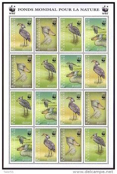 shoebill on stamps - Google Search
