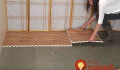 Podlaha ako nová za 5 minút: Geniálny nápad, ako zakryť škaredú dlážku v byte – žiadne búranie, zvládne to každý! Home Decor, Board, Decoration Home, Room Decor, Home Interior Design, Planks, Home Decoration, Interior Design