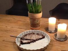 Helt fantastisk dessertchokoladekage:-)