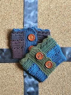 Ravelry: Autumn Sky Boot Cuffs pattern by Dianne Hunt