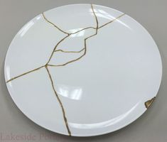 Kintsugi plate #1 Chef Morimoto's restaurant in Disney, Florida