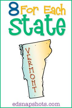 US Geography Studies made fun and informative.  Learn about Vermont!
