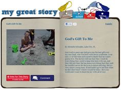 Check out the August 2012 My Great Story of the Month Contest winner Michelle Schrader, Lake City FL! Share your story at ndss.org/stories!