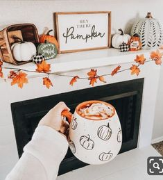 Hey there pumpkin, it's finally September! 🍁🍂I've been excited to decorate my apartment for Fall/Halloween. So far this is my favorite… Thanksgiving Diy, Thanksgiving Decorations, Seasonal Decor, Holiday Decorations, September Decorations, Halloween Decorations Apartment, Halloween Room Decor, Halloween Living Room, Fall Home Decor