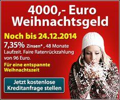 Sonderaktion Kredit Ohne Schufa   Euro Weihnachtsgeld Bis Zum  Fur Kurze Zeit Bietet Bon Kredit Chance Unter Nutzung Der