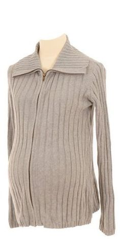 Lilo Maternity Ribbed Zip Sweater Heather Gray XXL by Lilo Maternity. $45.00. Made with the Best Quality Material with your child in mind.. Top Quality Children's Item.. Lilo Maternity knows how expectant women feel because our company was started and continues to be run by women who have gone through the pregnancy experience. As your body goes through changes, it becomes more difficult to find comfortable clothing without compromising your sense of style. It i...