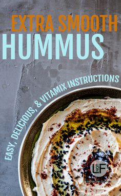 Eating a well made hummus that is extra smooth with warm pita is one of life's great joys. With this recipe you can now make this delicious dish at home! Gourmet Appetizers, Cold Appetizers, Low Carb Appetizers, Appetizer Recipes, Appetizer Ideas, Snack Recipes, Hot Desserts, Low Carb Desserts, Raw Vegan Recipes