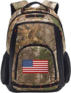Enjoy exclusive for American Flag Camo Backpack REALTREE USA Flag Backpacks - Laptop Section! Camo Backpack, Luggage Backpack, Tactical Backpack, Laptop Backpack, Backpack Bags, Fashion Backpack, Day Backpacks, Outdoor Backpacks, Cheerleading Bags
