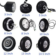Brushless Gearless electric scooter wheel 500w hub motor 48v