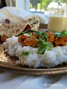 Ruokapankki: Butter chicken, herkullinen naan -leipä ja mangola...