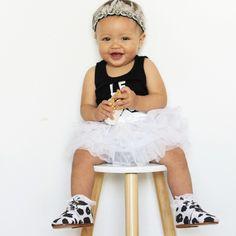 Headband: Archnollie Romper: Little Urban Apparel Tutu: Kmart Shoes: EveJnr Urban Apparel, Urban Outfits, Matilda, Tutu, To My Daughter, Flower Girl Dresses, Rompers, Wedding Dresses, Mini