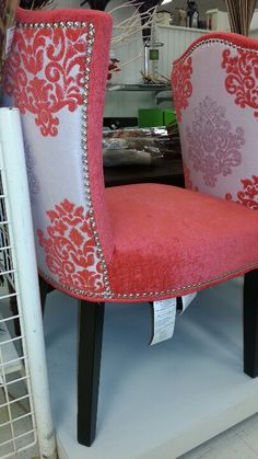 Cynthia Rowley Coral Chairs. Want Them In An All White Room With Matching  Throw Cushions