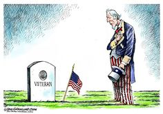 LET US REMEMBER THEIR SACRIFICE | May/20/16 Dave Granlund - Politicalcartoons.com - Memorial Day