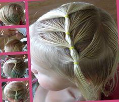 Простые прически для девочек - http://popricheskam.ru/738-prostye-pricheski-dlja-devochek.html. #прически #стрижки #тренды2017 #мода #волосы