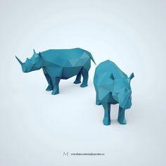 0 отметок «Нравится», 1 комментариев — мерзляков (@denismerzliakov) в Instagram: «#3d #model #rhino #lowpoly #printable #cnc #art #toy #design #animals #polygon #figurine #cinema4d…»
