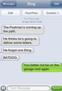 BATDOG#dog texts
