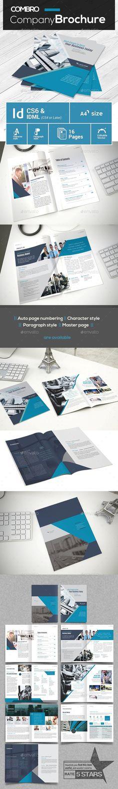 #Modern #Company Profile - #Brochures Print Templates