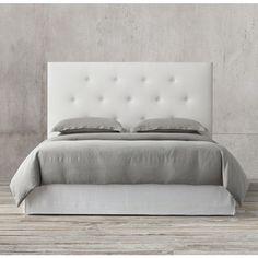 morrison tufted shelter bed collection rh headboards u0026 beds pinterest
