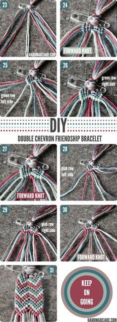 DIY#9-Double Chevron Friendship Bracelet-d