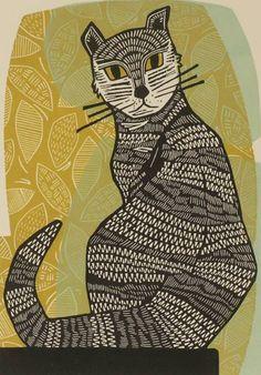 Black Cat by Fiona Humphrey