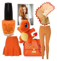 """Orange"" by jenny-graziani on Polyvore featuring moda, OPI, Marc Jacobs e Glamorous"