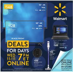 Walmart Flyer Black Friday In 2020 Walmart Black Friday Ad Black Friday Black Friday Walmart