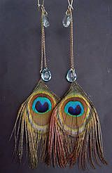 Feather, Jewelry Making, Drop Earrings, Handmade, Fashion, Quill, Moda, Hand Made, Jewellery Making