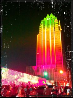 Frost Tower during SXSW