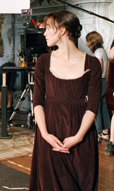 Keira Knightley (Elizabeth Bennet) - Pride and Prejudice (2005) directed by Joe Wright #janeausten