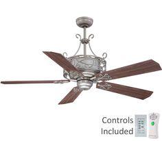 ellington e-der54an5cr del rey ceiling fan