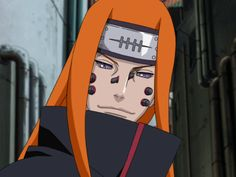 This man was a shinobi from Takigakure. This shinobi was a Takigakure shinobi that Jiraiya encountered during his journey to find his disciple. He was later killed and his corpse used by Nagato to channel the power of the Human Path in his Six Paths of Pain.