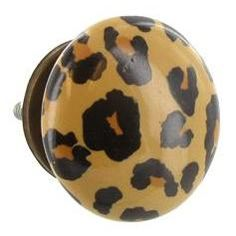 Ceramic Leopard- if they had this in zebra my daughter would adoor it! :-)