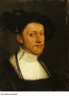 Portrait of Philip the Magnanimous of Hesse, Christoph Amberger. 1505–1561/1562 Augsburg