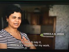 "Suheila Al Hindi is one of the ""stars"" of Hummus the Movie Berlin Brandenburg, Documentary Film, Hummus, Documentaries, Movies, Stars, Film, Film Festival, Homemade Hummus"