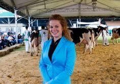 Expointer tem primeira mulher a julgar gado holandês em concurs