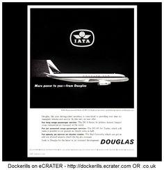 Douglas DC-8 Advert. From Interavia Magazine, 1961.