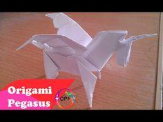 ஜ Origami pegasus tutorial ஜ How to make origami pegasus tutorial step by step ஜ . Guidance paper folding step by step easy pegasus . Origami Yoda, Origami Swan, Origami Star Box, Origami Envelope, Origami Dragon, Origami Fish, Origami Paper, Origami Folding, Diy Origami